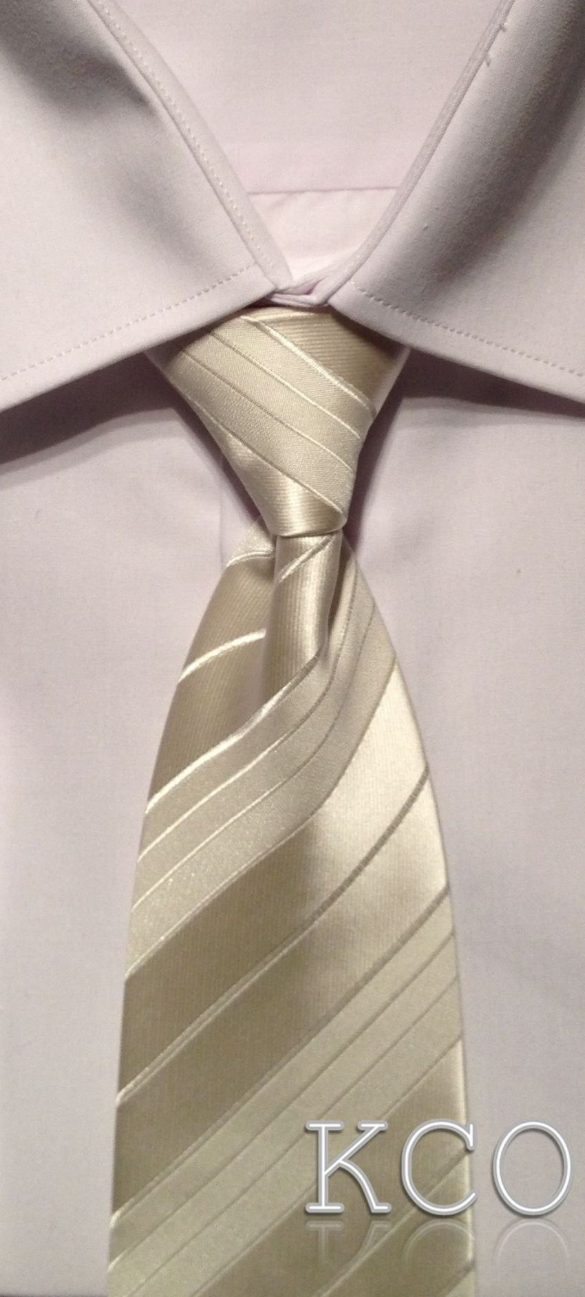 Elasticated Tie~ Style THS001E Ivory